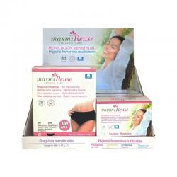 Expositor higiene femenina reutilizable bio Masmi - Imagen 1