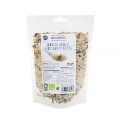Sopa de arroz verdura y algas 500g Algamar - Imagen 1