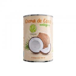 Crema de coco 22%MG Bio 400ml Uneysa - Imagen 1