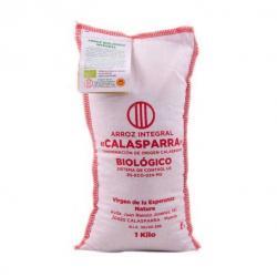 Arroz de calasparra integral saco tela Bio 1kg Calasparra - Imagen 1