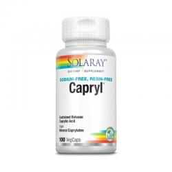 Capryl™ Acido caprilico 100vcaps Solaray - Imagen 1