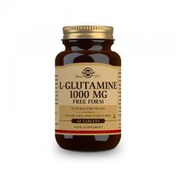 L-Glutamina 1000mg 60 comprimidos Solgar - Imagen 1