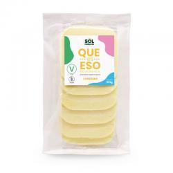 Queso vegano en lonchas sabor suave bio 150g Sol Natural - Imagen 1
