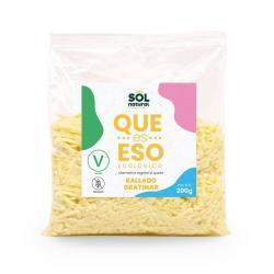 Queso vegano rallado para gratinar bio 200g Sol Natural - Imagen 1