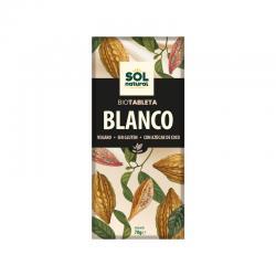 Tableta chocolate blanco Bio 70g Sol Natural - Imagen 1