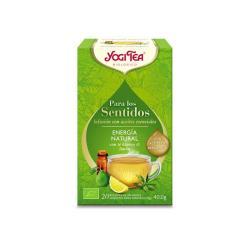 Yogi tea para los sentidos Energia Natural Bio 20 filtros - Imagen 1