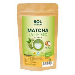 Matcha latte mix Bio 200g Sol Natural - Imagen 1