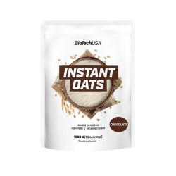 Harina de avena Instant Oats chocolate 1kg BioTechUSA - Imagen 1