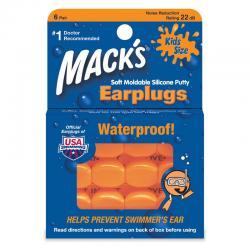 Tapones para oidos infantil EarPlugs 6 pares Mack's - Imagen 1